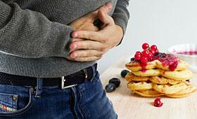 Боль в животе и другие симптомы непереносимости глютена